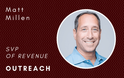 How to develop and hire people with a winning mindset: In conversation with Matt Millen, Outreach SVP of Revenue
