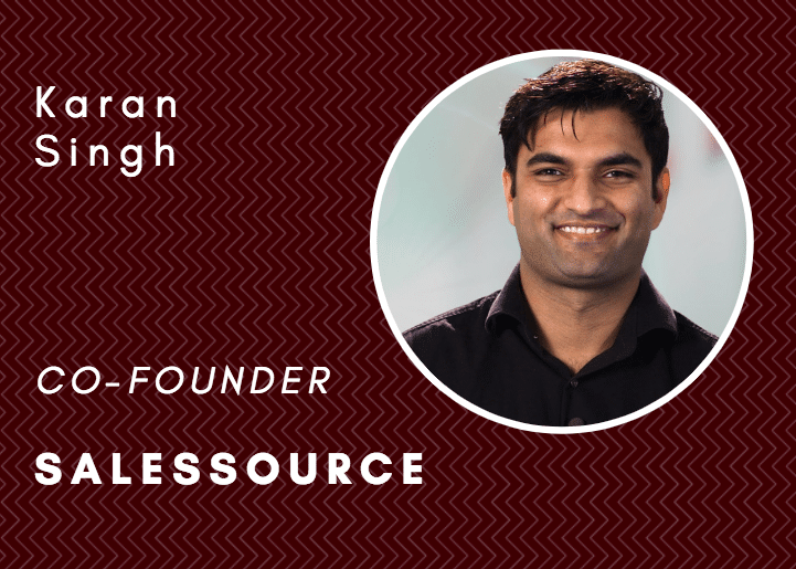 Taking a data driven approach to go-to-market planning with SalesSource co-founder Karan Singh