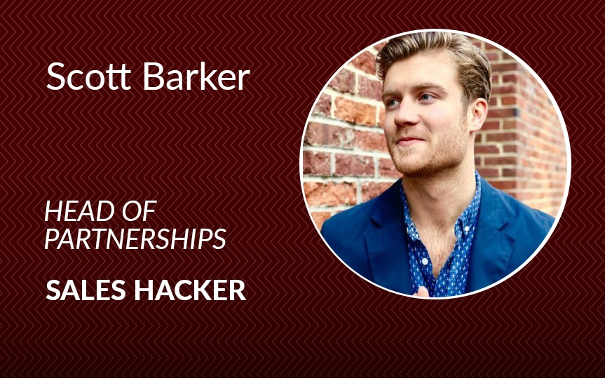 Prospecting 101: Sales Hacker's Scott Barker shares his sales tips and tricks from the trenches