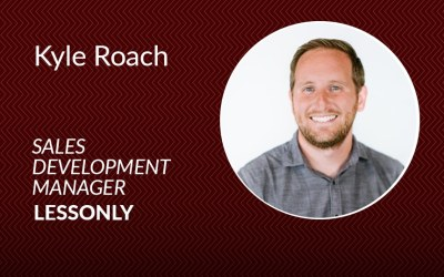 How Lessonly's Kyle Roach teaches his team to sell the dream