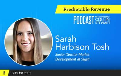 The power of aligning brand and outbound sales with Sigstr's Sarah Harbison Tosh