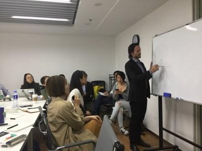 Beijing training & onsite with GrowingIO