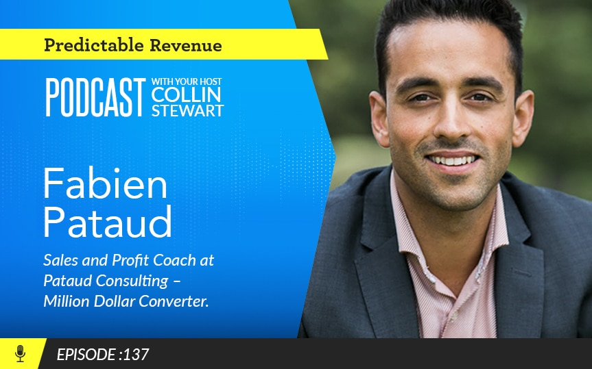How do you turn coffee meetings into dollars? Sales expert Fabien Pataud shares his secrets