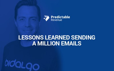 Lessons Learned Sending A Million Emails