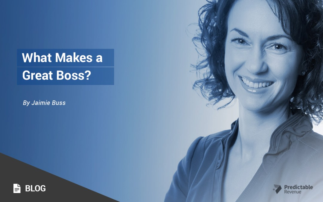 What Makes a Boss Great?