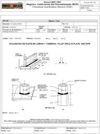 Formato 1. Modelo de un WPS.