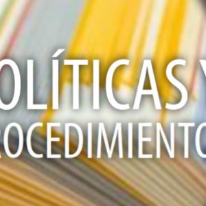 Políticas y Procedimientos