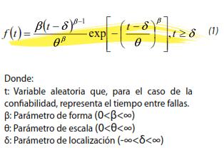 Ecuación (1)