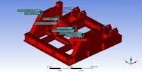 Figura 12. Cargas y peso aplicados al bastidor, Condiciones de temperatura
