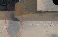 Figura 15. Plasticidad del material y grieta