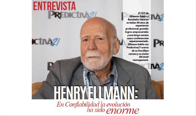 Henry Ellmann: En Confiabilidad la evolución ha sido enorme