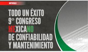 9° Congreso Mexicano de Confiabilidad y Mantenimiento