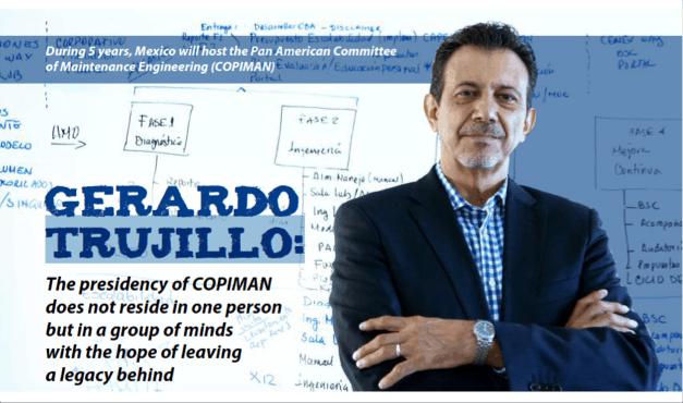 Gerardo Trujillo: The presidency of COPIMAN does not reside in one person but in a group of minds with the hope of leaving a legacy behind