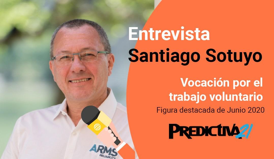 Santiago Sotuyo: Vocación por el trabajo voluntario