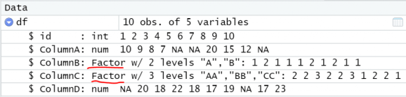 Replace Categorical Variables with Mode in R 3