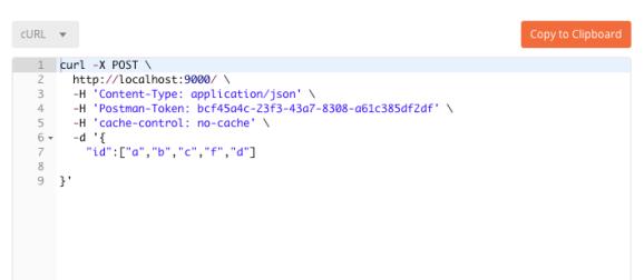 generate code for API calls