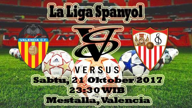 Prediksi Bola Nanti Malam Valencia VS Sevilla