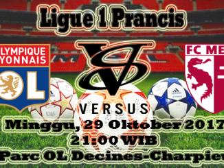 Prediksi Bola Olympique Lyonnais VS Metz