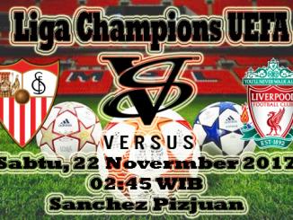Prediksi Skor Bola Sevilla VS Liverpool