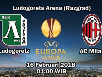 Prediksi Skor Jitu Ludogorets vs Milan