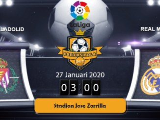 PREDIKSI BOLA JITU REAL VALLADOLID VS REAL MADRID 27 JANUARI 2020