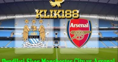 Prediksi Skor Manchester City vs Arsenal 5 November 2017