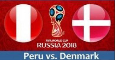 Prediksi Bola Peru vs Denmark Tanggal 16 Juni 2018