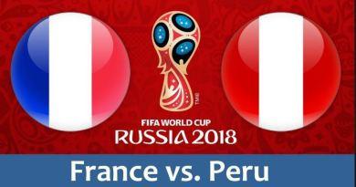 Prediksi Bola Akurat France vs Peru Tanggal 21 Juni 2018