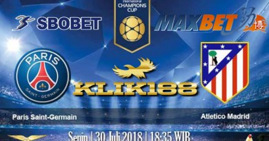 Prediksi Bola Akurat Paris Saint Germain VS Atletico Madrid