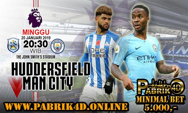 Prediksi Huddersfield vs Manchester City 20 Januari 2019