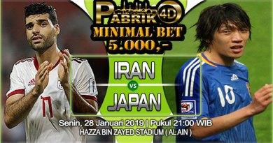 Prediksi Iran vs Jepang 28 Januari 2019
