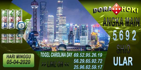 Prediksi Carolina Day Minggu 05 April 2020