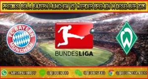 Prediksi Bola Bayern Munchen vs Werder Bremen 14 Desember 2019
