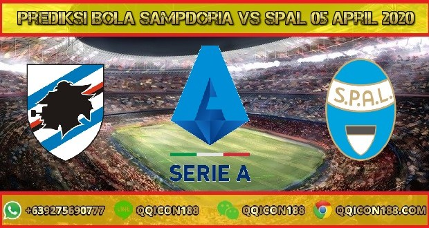 Prediksi Bola Sampdoria vs SPAL 05 April 2020