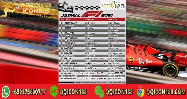 Jadwal Balapan F1 2021