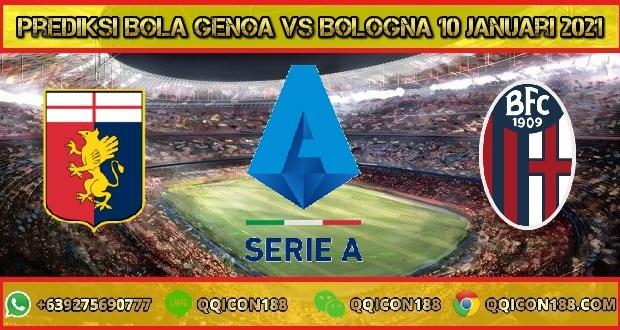 Prediksi Bola Genoa Vs Bologna 10 Januari 2021