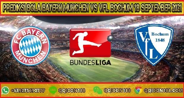 Prediksi Bola Bayern Munchen Vs VfL Bochum 18 September 2021