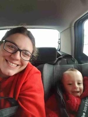 A preemie mom and her preemie boy