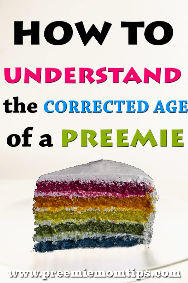 Having a preemie uncovers a whole new world! Among the first things preemie parents need to understand is how corrected age works. This was a challenge I... #preemie #adjustedage #correctedage #parenting #prematurebaby #preemie