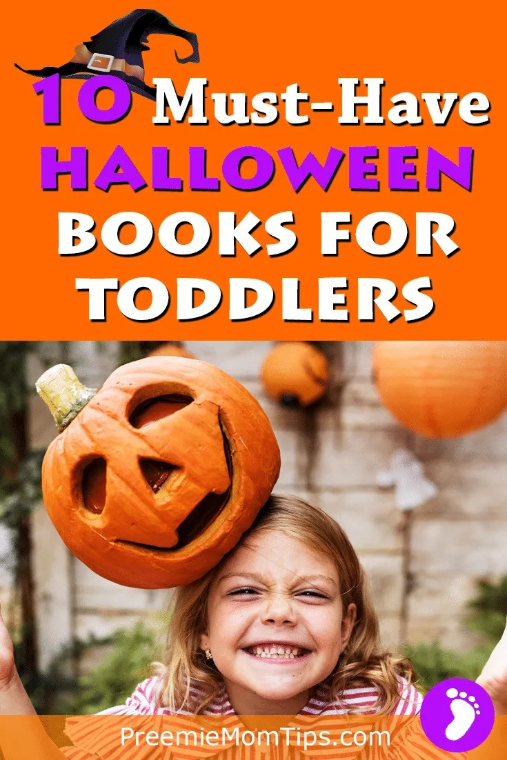 Are you ready for Halloween? Get in the trick or treating mood with these totally awesome must-have Halloween books for toddlers! #parenting #mom #toddlers #Halloween