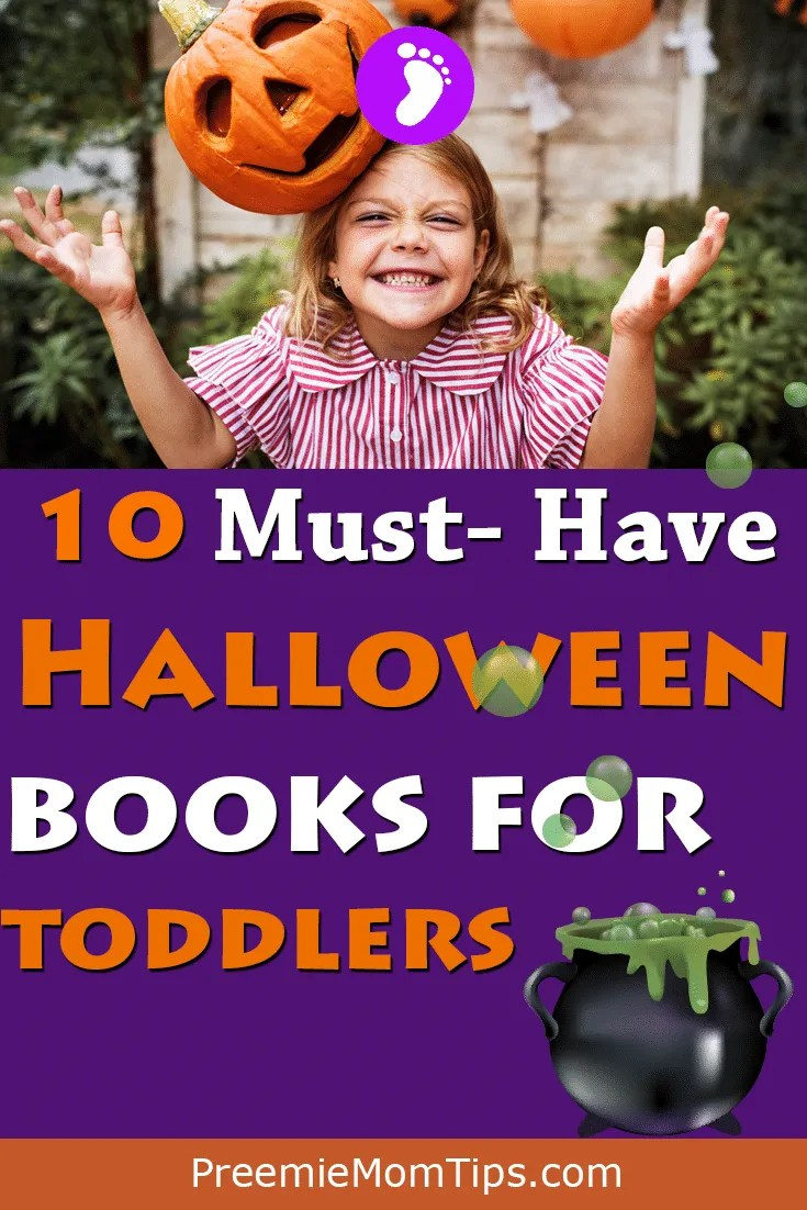 Check out these cute, not-so-spooky, totally spooktastic Halloween books for toddlers! #mom #Halloween #toddler