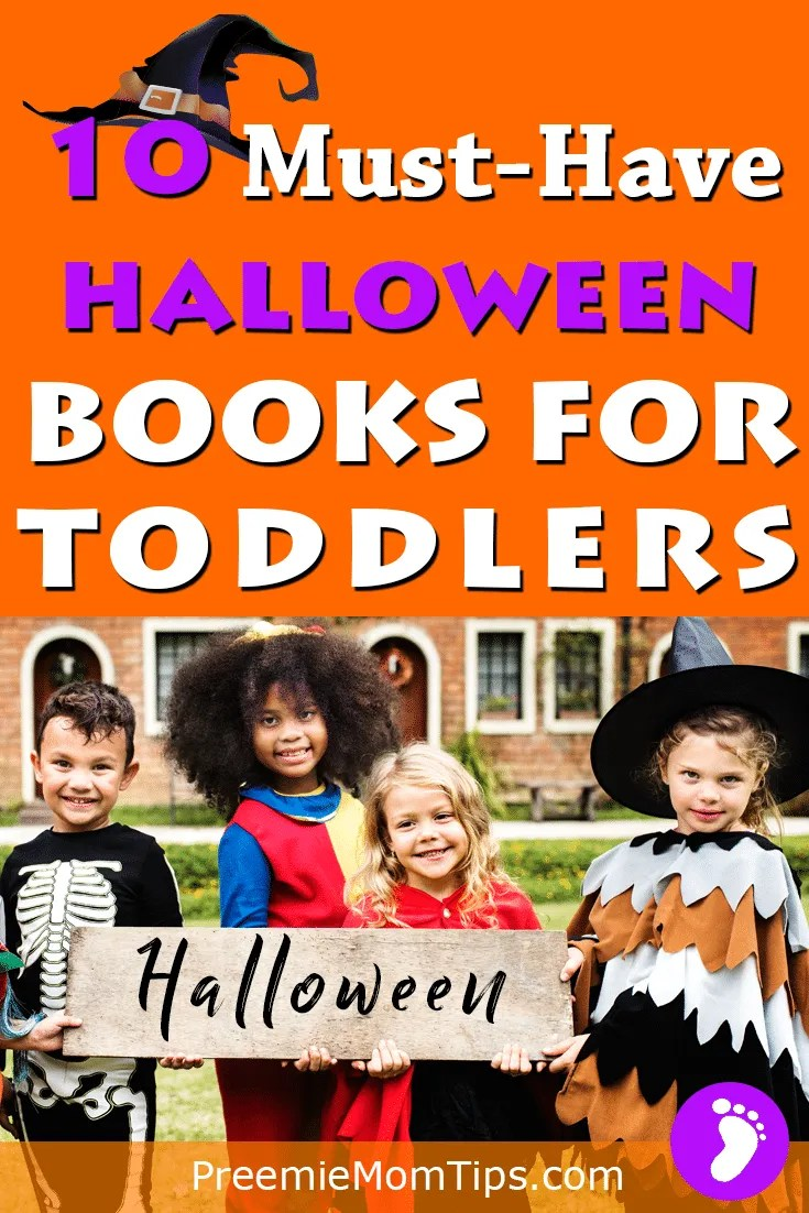 Don't miss out on the chance to get spookute with my top 10 Halloween books for toddlers for your library! #mom #parenting #Halloween #toddlers