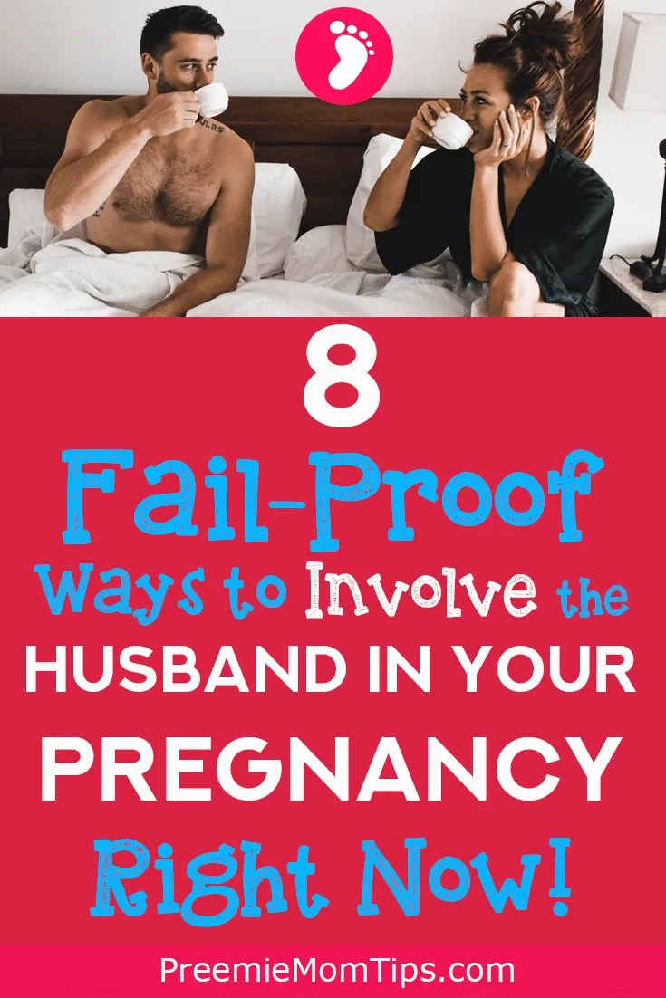 Get your husband super excited about your pregnancy with these 8 simple steps you can take today!