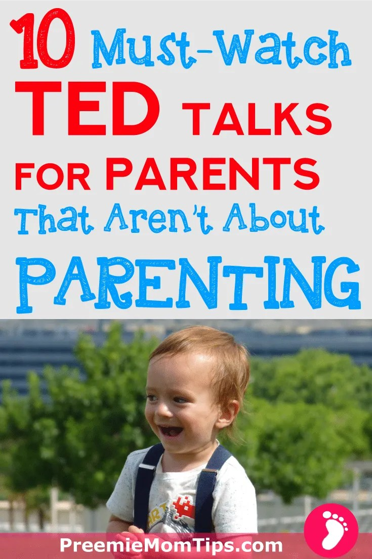 Want to become a better parenting? Here are 10 TED talks for parents that aren't about parenting that you can't afford to miss. Up your parenting game and become a more complete mom or dad to your children!