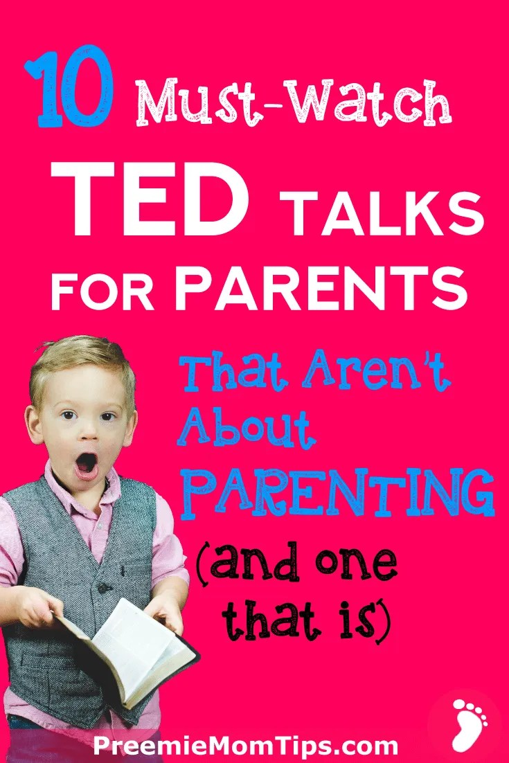 Here are 10 must-watch TED talks for parents that aren't about parenting. Improve your relationship with your children, and learn about how to educate them by watching these videos.