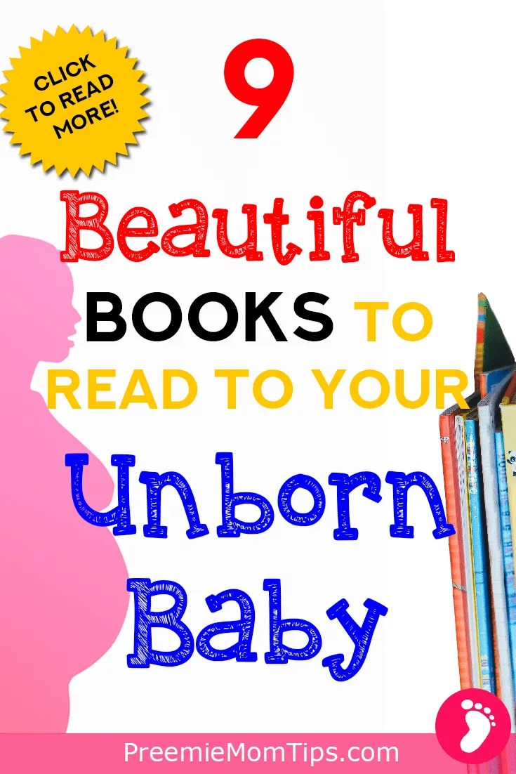 Reading books is the perfect boding time for your pregnancy! Here's a cute list of books to read aloud to your unborn baby!