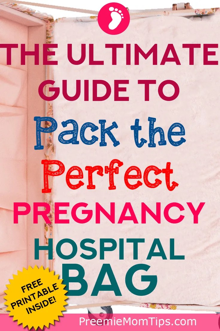 Be ready to welcome your baby! Have your pregnancy hospital bag ready on time. You'll see everything you need for you, your baby and your husband! (And, a couple of things for keepsake as well!)