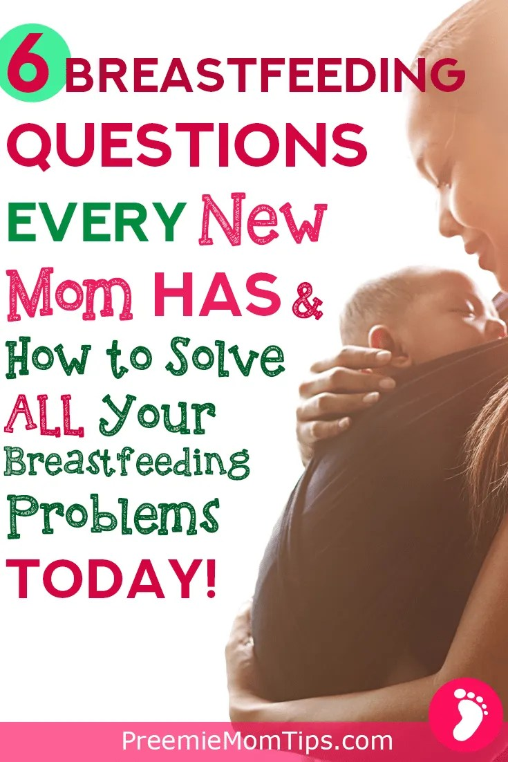 Breastfeeding doesn't have to be that hard! Take a look at the most common breastfeeding questions new moms have when nursing their newborn babies!