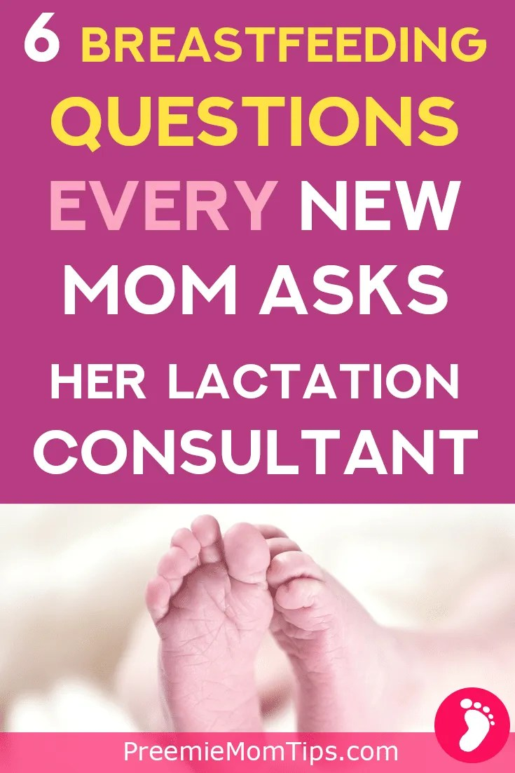Why is breastfeeding so confusing? Check out these top breastfeeding questions every new mom asks her lactation consultant! Get the answers you need about breastfeeding, today!