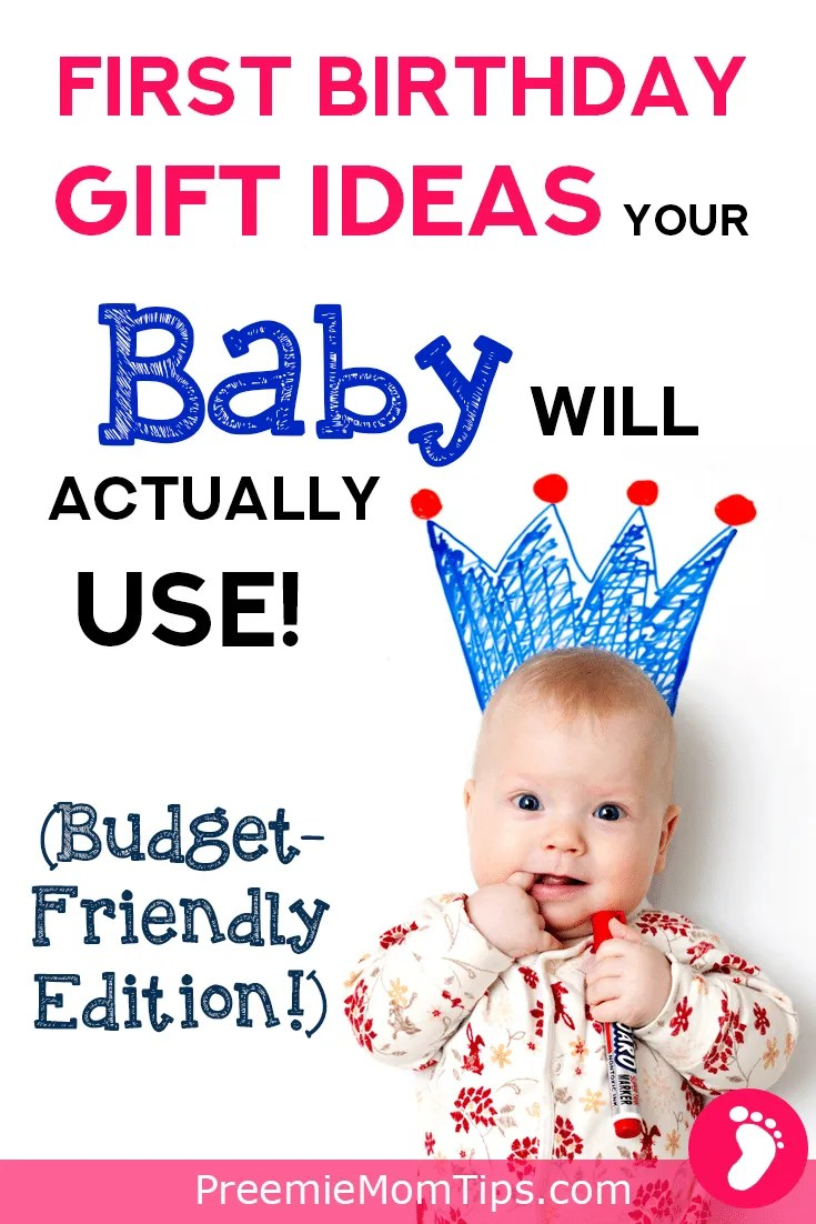 Check out this list of fun, educational, practical gifts for your baby's first birthday! Gift ideas your little one will love (and your pocket, too)